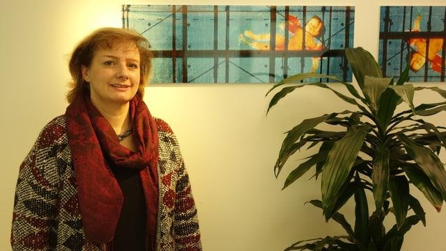 Renata Geronimi, la prsidenta dal Chor masdo Alvra.
