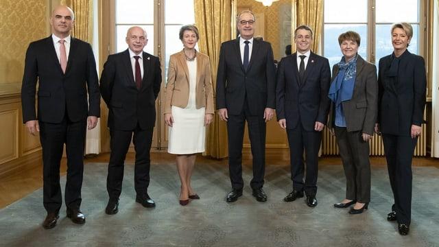Der neue Bundesrat.
