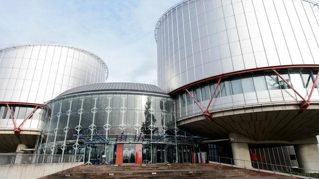 Menschenrechtshof in Strassburg.