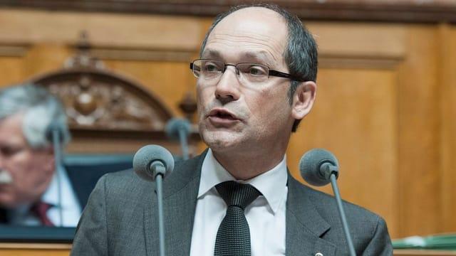 Daniel Fässler im Nationalrat