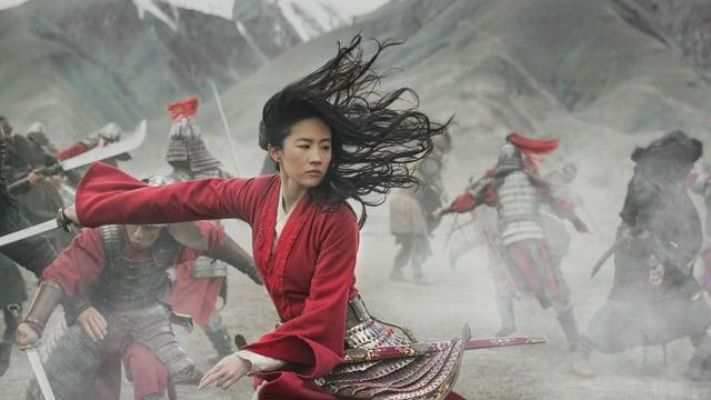 Kampfszene aus «Mulan».