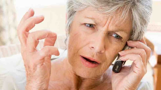 Agressiver Telefonverkauf