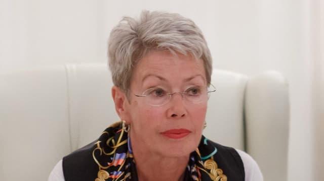 Die Schweizer Diplomatin Heidi Tagliavini