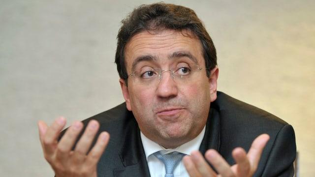 Der Waadtländer Finanzdirektor Pascal Broulis