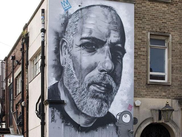 Bild am Street Art Festival in Bristol.
