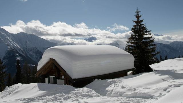 Immer wieder gab es in diesem Winter viel Schnee.