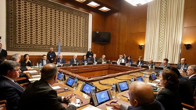 Syrien-Gespräche in Genf.