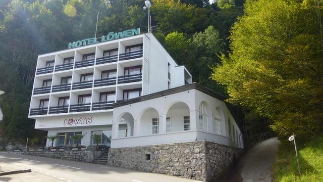 Gebäude des Hotel Löwen in Seelisberg