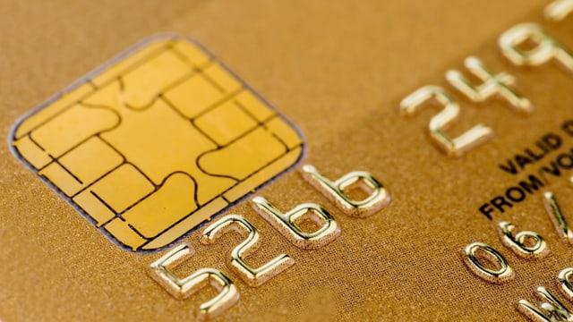 Kreditkarte gold