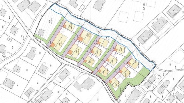 Il plan da quartier Sulom da Savognin.