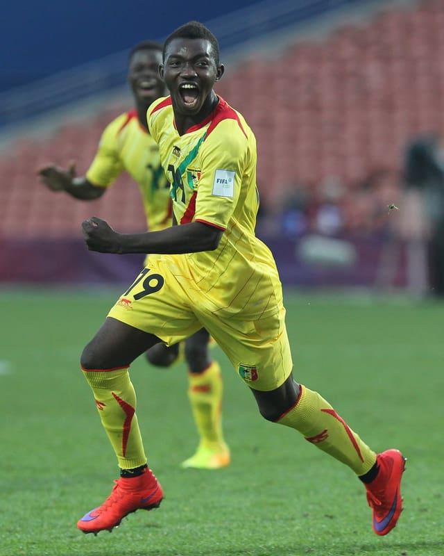 Der 20-jährige Adama Traoré im Dress der malischen Nationalmannschaft.