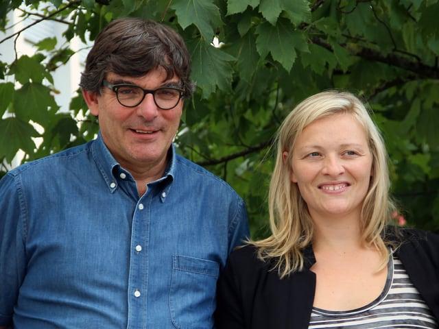 Der Rätoromane Flurin Caviezel und die Deutschschweizerin Susanne Kunz.