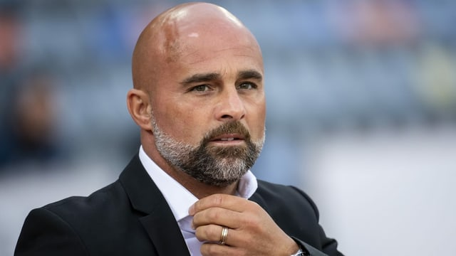 Giorgio Contini steht mit dem FC Lausanne kurz vor dem Aufstieg.