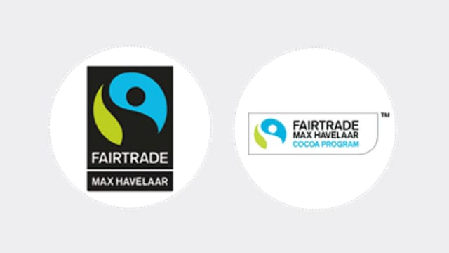 Die beiden Max-Havelaar-Logos im Vergleich