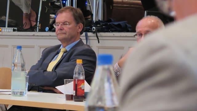 Walter Dubler im Einwohnerratssaal