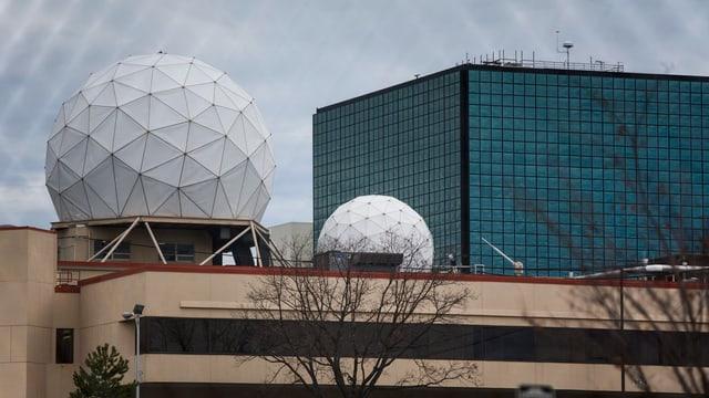 Hauptquartier des Geheimdienstes NSA in Fort Meade, Maryland.