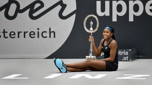 Cori Gauff «uffant schenial» pservada a Wimbledon.