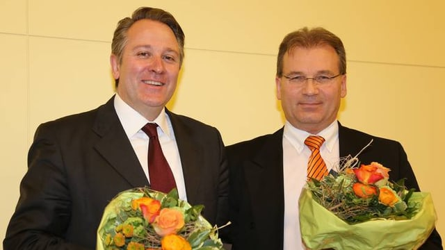 Marco Casanova (links) und Bruno Beeler.