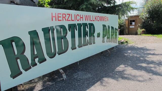 Eingang Raubtierpark