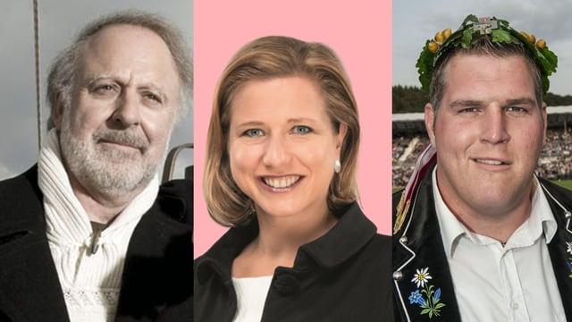 Peter Reber, Christa Markwalder, Christian Stucki