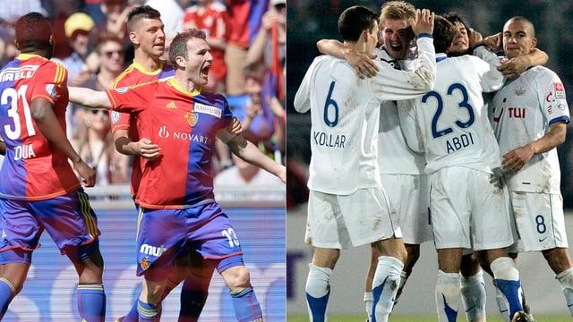 Am Sonntag stehen sich Basel und Zürich erstmals in dieser Saison gegenüber.