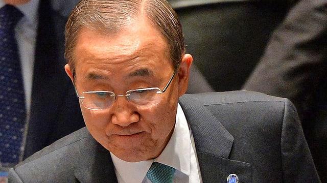 Porträt Ban Ki Moon.