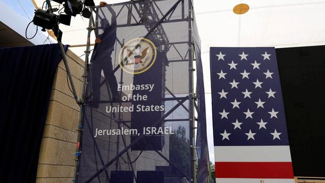 Amassada dals Stadis Unids a Jerusalem.