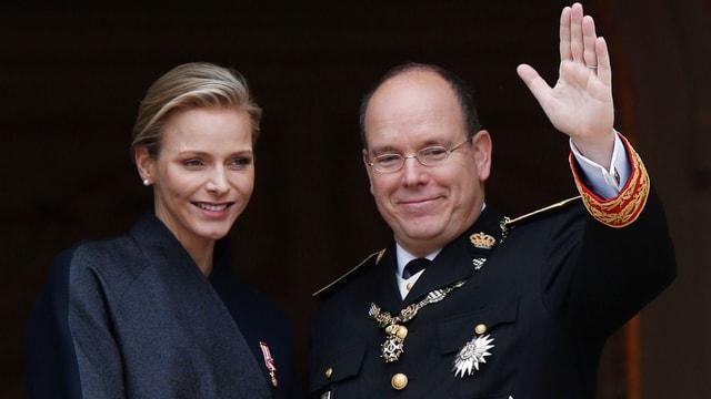 Charléne und Albert von Monaco