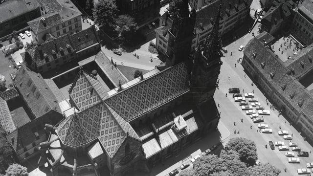 Luftaufnahme Münsterplatz.