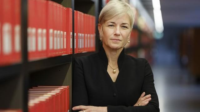 Die neu als Bundesrichtern gewählte Marianne Ryter.