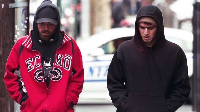 Robert Pattinson und Benny Safdie in «Good Time».
