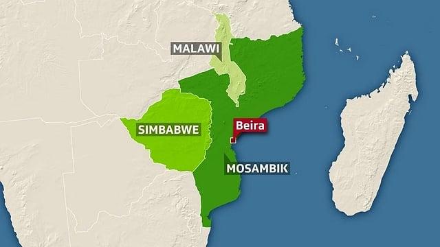 Der Zyklon «Idai» wütete neben Mosambik auch in Simbabwe und Malawi.