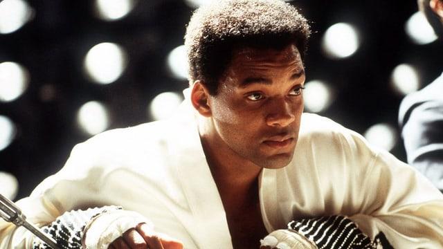 Will Smith als Muhammad Ali.