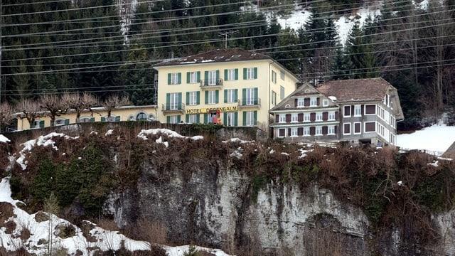 Durchgangszentrum Degenbalm über Morschach