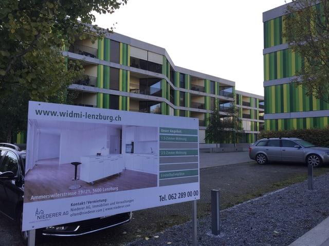 Siedlung Widmi in Lenzburg