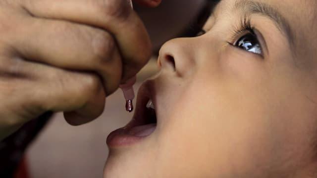 Dank der Polio-Impfung hat Indien grosse Erfahrung mit Impfkapagnen.