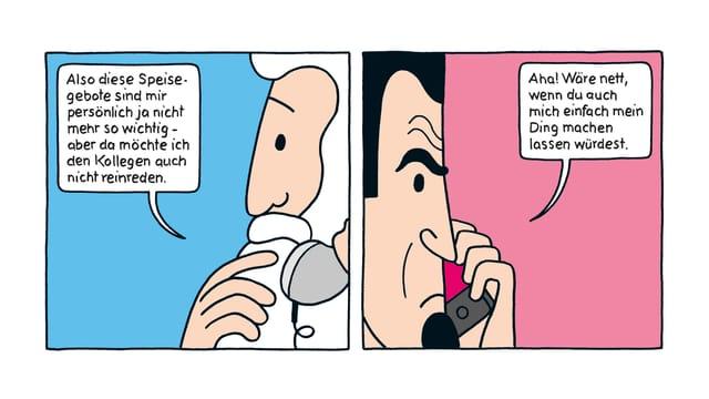 Ausschnitt aus der Graphic Novel «Hotel Hades».