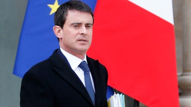 Der französische Innenminister Manuel Valls.