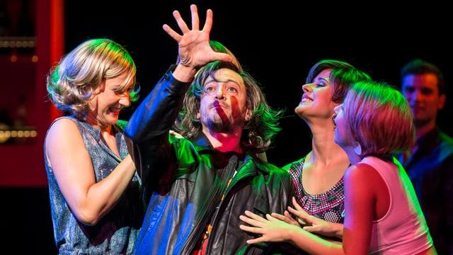 Szene aus dem Musical «Io senza te» im Theater 11 in Zürich