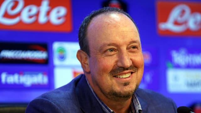 Rafael Benitez durant ina conferenza da pressa