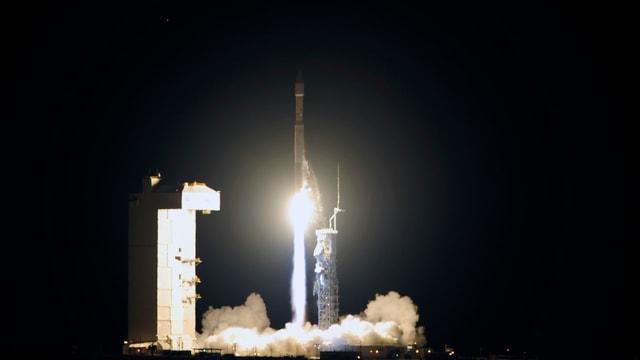 Start der Atlas-Rakete