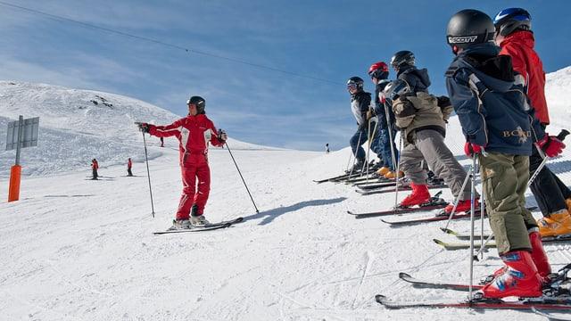 Scola da skis.