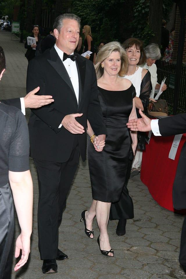 Al Gore mit seiner Frau Tipper