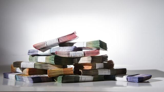 Bancnotas sin maisa.