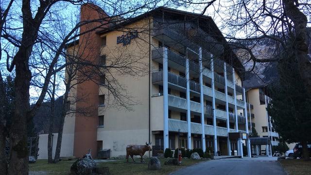 Il hotel Disentiserhof