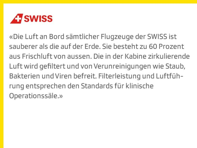 Statement Swiss