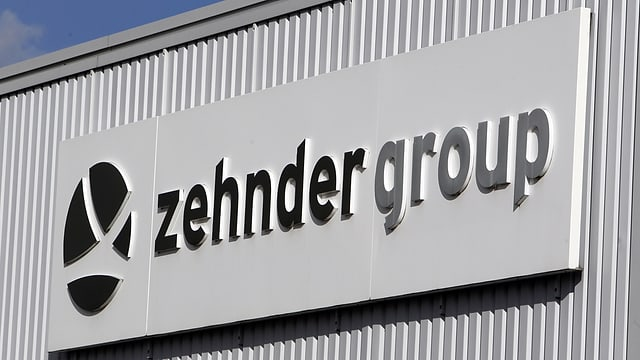 Zehnder Firmenschild