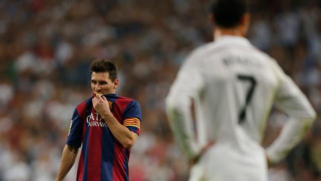 Messi (links) und Ronaldo