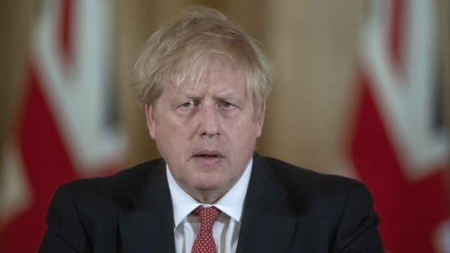 Purtret da Boris Johnson.