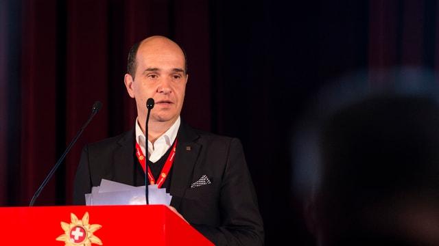 Gaudenz Thoma, il CEO da Grischun Vacanzas.